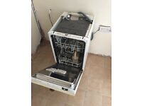 450mm integrated dishwasher