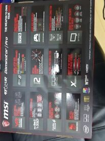 MSI GT62VR 6RD-020BE. LAPTOP as brand new