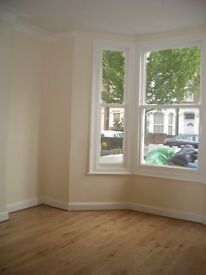 Newly refurbished two bedroom ground floor apartment