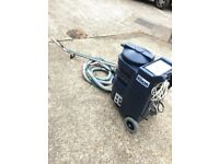 Ashbys Ninja carpet cleaning machine , new 220 psi, two 3 stage Hd vacuum motors, 3kw tank heater