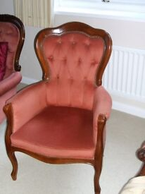 A LOVELY ARM CHAIR FOR ANY ROOM
