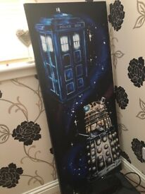 Dr who canvas