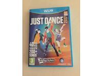 Game just dance wii U