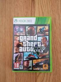 Grand theft auto 5 for the xbox 360
