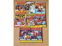 8 Football Annuals