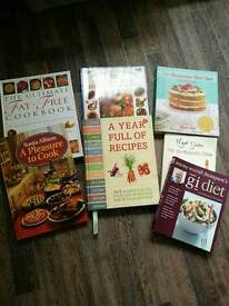 Selection of 7 Cook Books