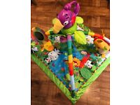 Fisher price musical activity baby play mat