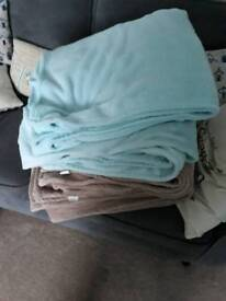 Dunelm mill fleece blankets/throws
