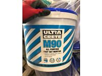 Concrete for sale - 40N and Ultra Crete M90 Quick Set
