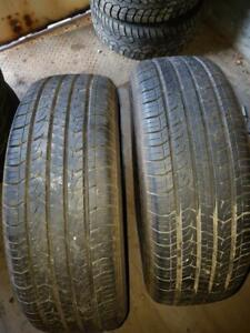 4 Used 215/55/16 AS Tires