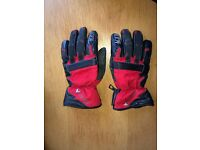 Men's large Frank Thomas waterproof insulated morotcycle gloves