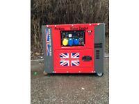 Perkins Deisel generator 18.5 kva key start