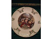Royal Doulton xmas plate