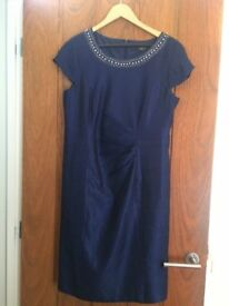 BEAUTIFUL PRECIS DRESS AND JACKET, IDEAL FOR WEDDINGS, RACES ETC. ONE ONLY FOR 4 HOURS AT WEDDING