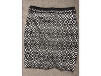M&S Petite smart pencil skirt -size 10