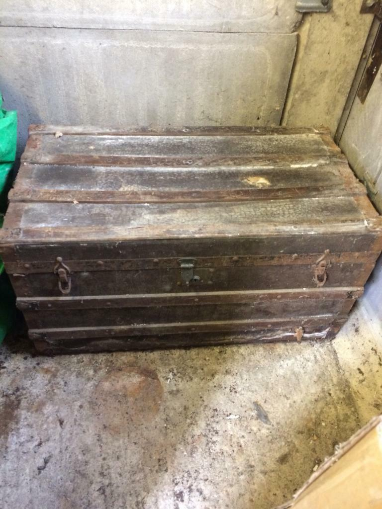 Old seaman's chest