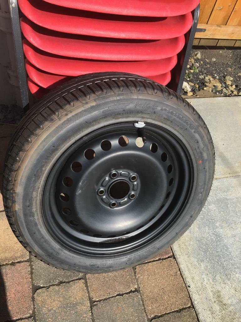 Michelin Pilot 205x55x16 Tyre On Focus Rim Both Like New 35 In Fuel Filters