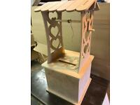 Wedding MDF post box wishing well