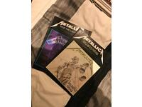Metallica guitar tab books 1. Ride The Lightning 2. And Justice For All
