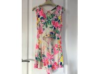 Boohoo play suit never worn size uk8 excellent condition