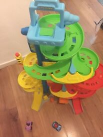 Fisher Price Little People City Skyway, includes cars £5