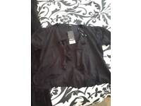 BRAND NEW WITH TAGS SIZE 10 BLACK SHORT SLEEVE CARDIGAN