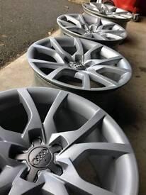 "Genuine Audi A5 Speedline Alloys 18"" 5x112 8.5"