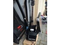 Beginners electric guitar and amp £20.00