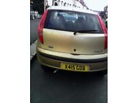 FIAT Punto Automatic Gold car for quick sale with attractive price