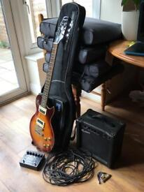 Aria Pro Guitar, Amp & Pedal for sale £500 ONO