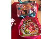 Frozen & shopkins bags