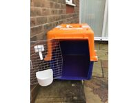 International pet transportation crate