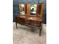 Fabulous mid century dressing table by Stag Minstrel .
