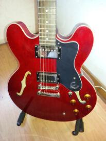 Epiphone ES 35 Dot Archtop, Cherry Sunburst Guitar