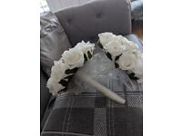 Bridal and 2x bridemaid flowers