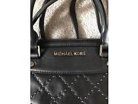 Michael Kors back stud handbag