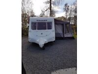 Fleetwood Colchester 2004 model 2 berth touring caravan