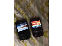 Two blackberry curves