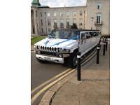 Hummer H2 Limousine £350 / Chrysler Limo £250 / Range Rover Limo £550 / Limousine Hire London