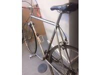 Peugeot Road Bike Silver Retro