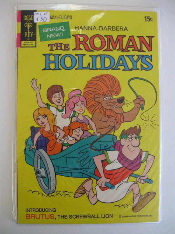 *ROMAN HOLIDAYS #1 & #3 Guide $34.50