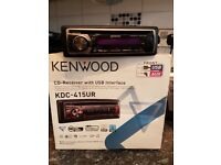 Kenwood car CD/RADIO