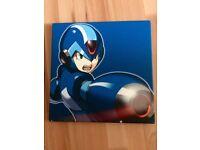 MegaMan X Art Canvas