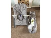 Chicco Pocket Relax Baby Chair Grey 0m+