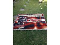 RARE Snap on tools truck banner