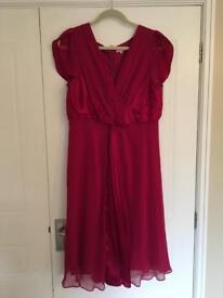 Phase eight silk dress size 18