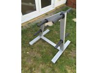 Olympus Olympic weight plate holder rack