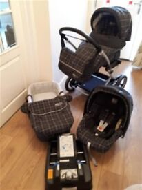 Mamas & Papas Pram/Buggy 3 in 1 Travel System - Fantastic Value Bundle - Primo Viaggio