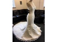 Stunning wedding dress, brand new with tags, size 10/12