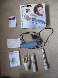 Philips superlift styler HP4488 400w as new